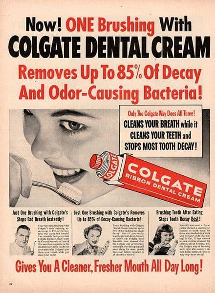 реклама на паста за зъби